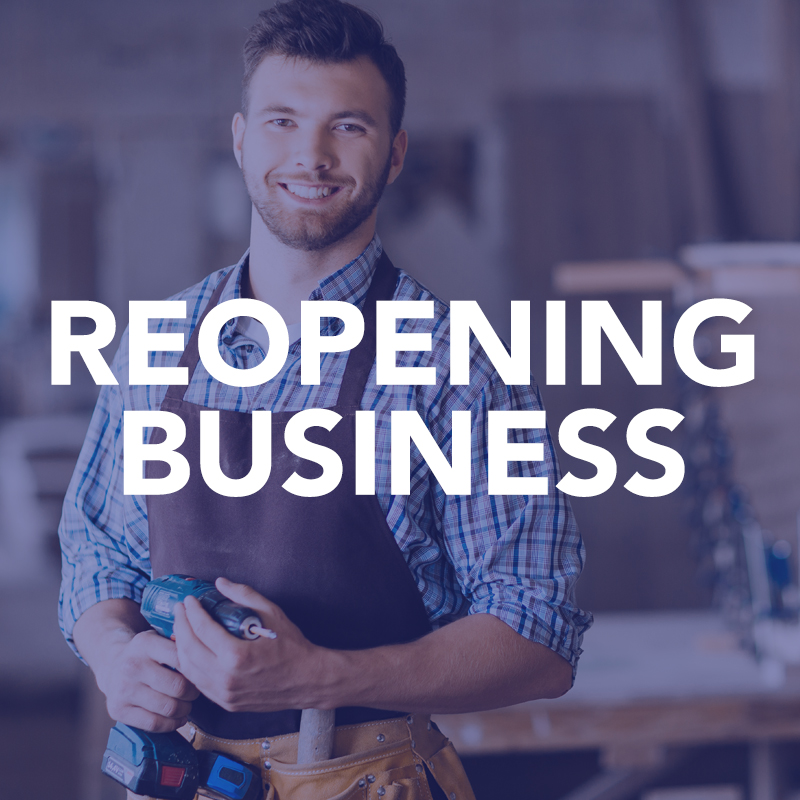 ReOpening Business
